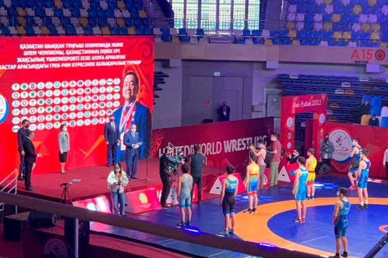 Астанада Жақсылық Үшкемпіровты еске алуға арналған турнир өтіп жатыр