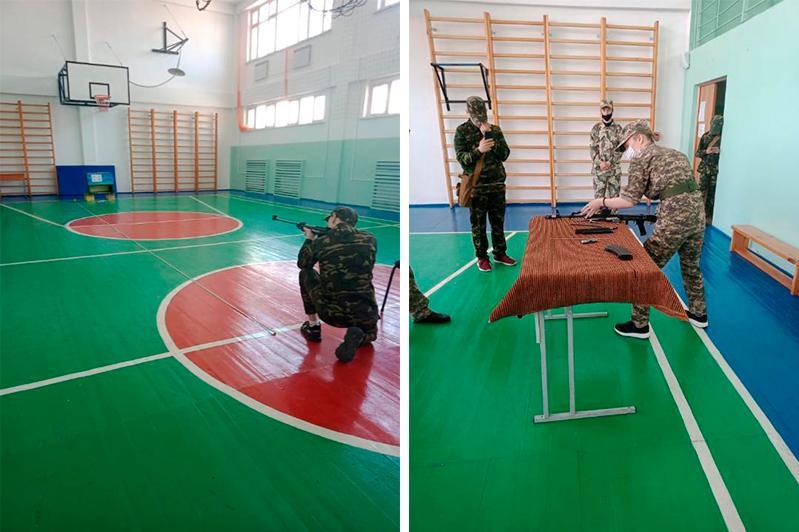 Победителей военно-спортивных игр определили в Карагандинской области