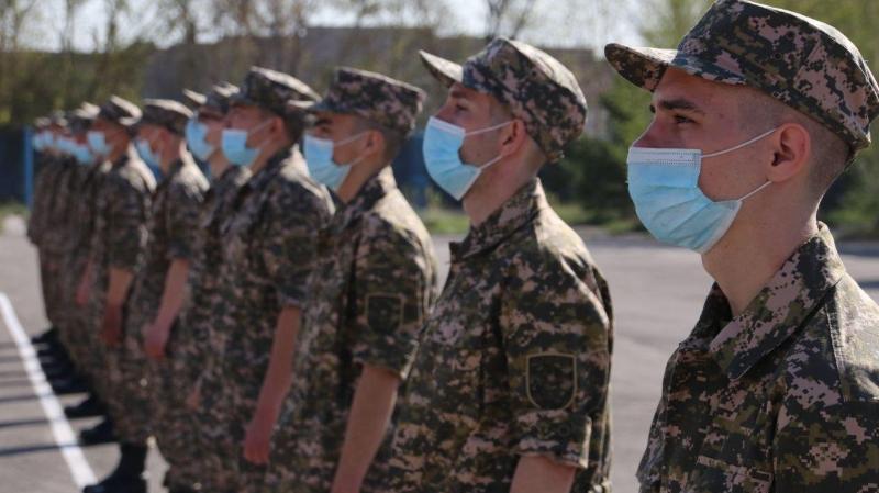 Казахстанская армия пополнилась новобранцами из Карагандинской области