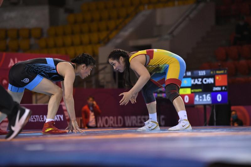 Жамила Бакбергенова уступила в полуфинале лицензионного турнира по видам борьбы в Болгарии
