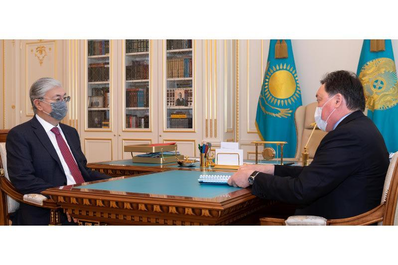 President Tokayev held meeting with Prime Minister Askar Mamin