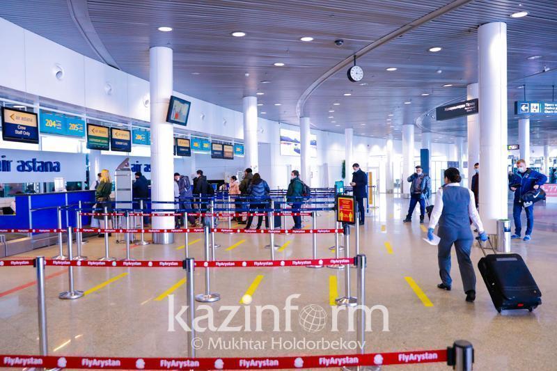 7日共有3484名国际旅客飞抵哈萨克斯坦