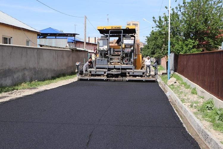 Более 50 улиц отремонтируют в этом году в Кентау