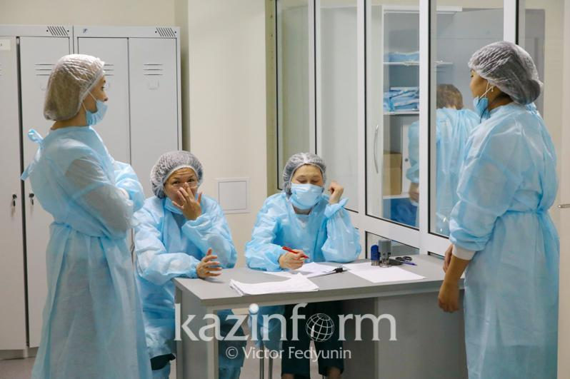 Daily COVID-19 case count at 2,350 in Kazakhstan