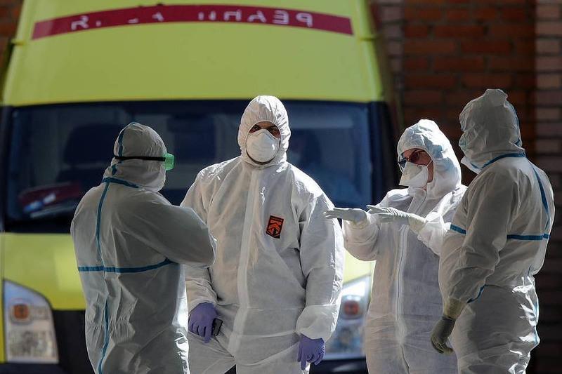 Russia's coronavirus reproduction rate remains below 1