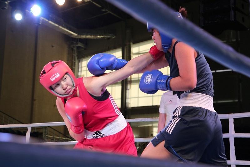 Женская команда Казахстана по боксу приступила к сборам в Нур-Султане