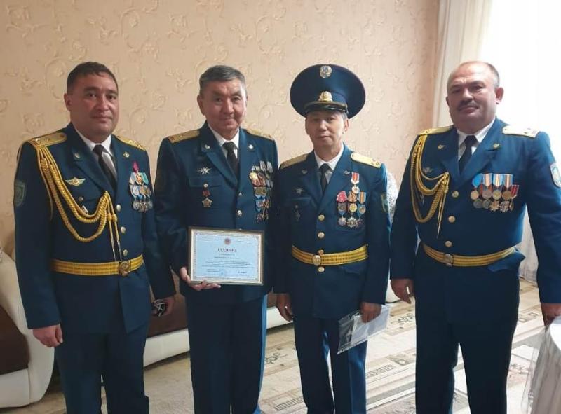 Ветеранов службы ЧС чествовали в Жамбылской области