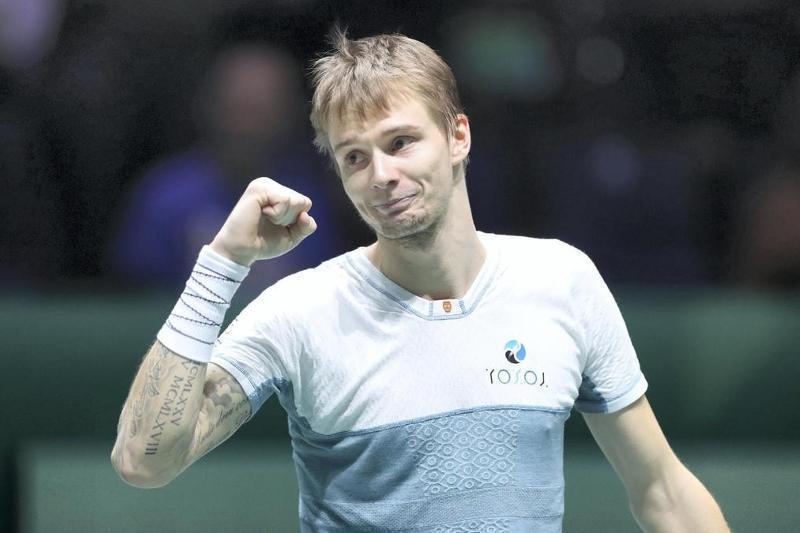Александр Бублик әлемдегі үздік 40 теннисшінің қатарына кірді
