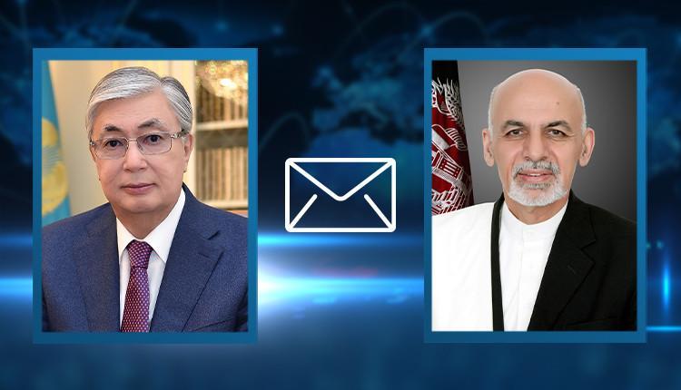 Мемлекет басшысы Ауғанстан Президенті Ашраф Ғаниға көңіл айттты