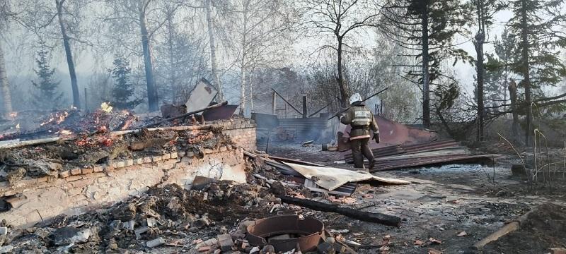 ShQO-daǵy órt: Leshoz kentiniń turǵyndary úshin shuǵyl jeli jumys isteı bastady