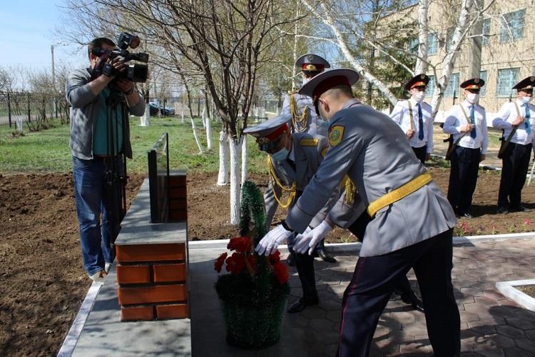 Мемориал в память о погибших в годы ВОВ установлен в Акмолинской области
