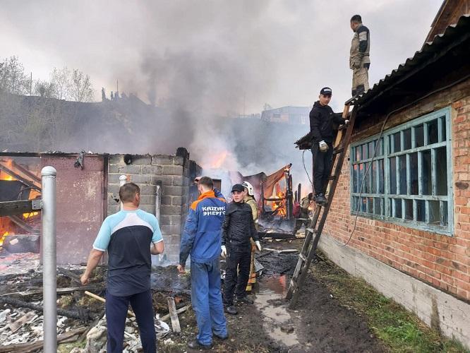 Все пострадавшие от пожара в Риддере получат жилье - аким ВКО