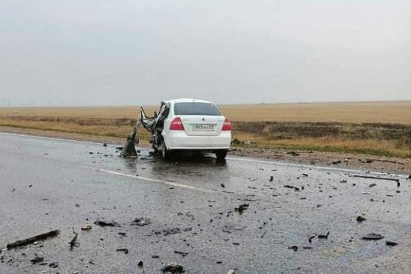 В ДТП на трассе Кокшетау-Петропавловск погибла водитель легкового авто