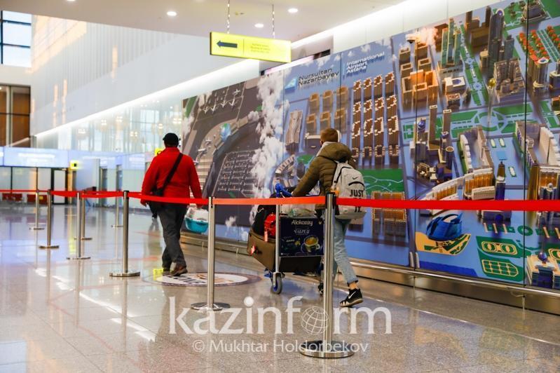 За сутки в Казахстан прибыло 2 735 авиапассажиров с ПЦР-справками