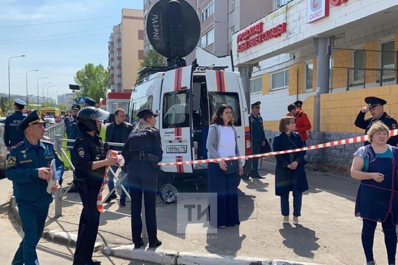 В результате стрельбы в школе в Казани пострадали 21 человек и 8 погибли