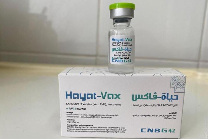 17 тысяч доз вакцины «Hayat-Vax» производства ОАЭ завезли в Туркестанскую область