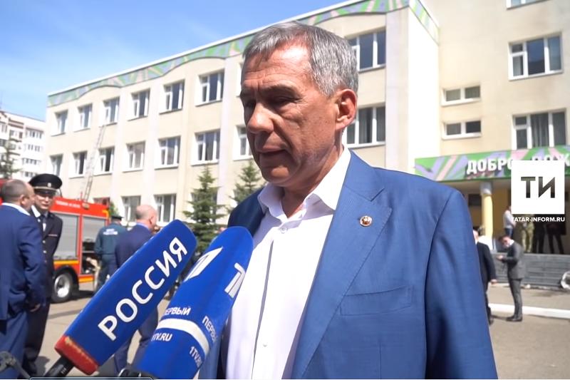 Рустам Минниханов: Большая трагедия для всей страны, мы потеряли семь детей