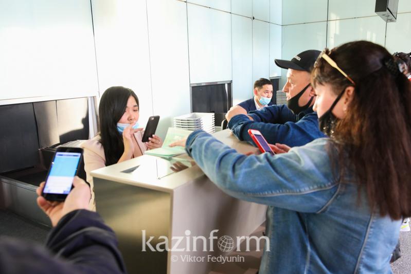 Заранее скачать приложение Ashyq попросили пассажиров в столичном аэропорту
