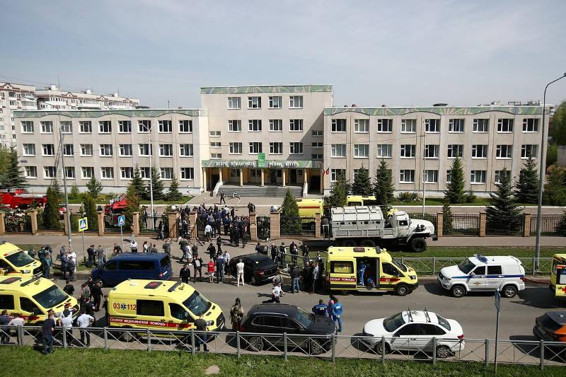 Tatarstan declares national mourning on May 12 after school shooting