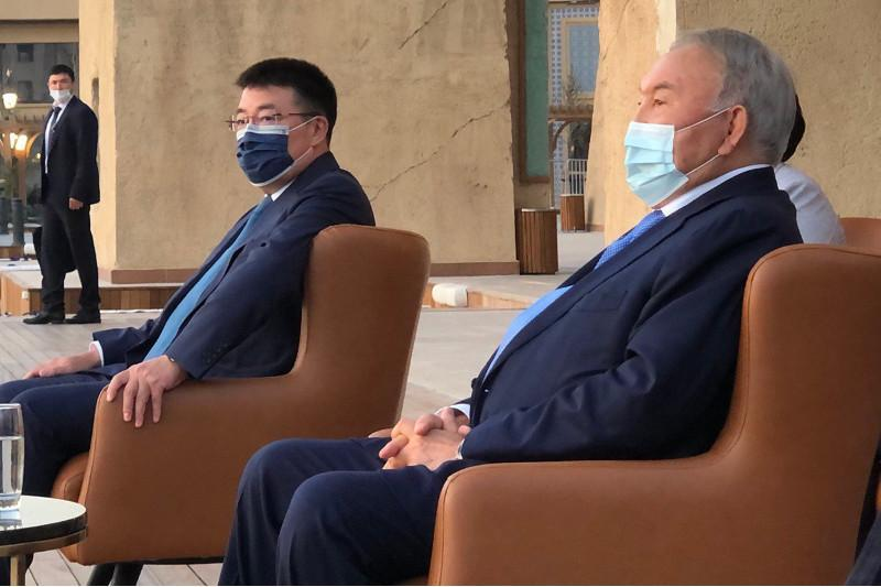 Nazarbayev familiarizes with the work of Karavan Saray tourist complex