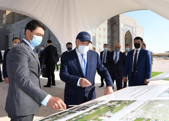 Туркестан развивается даже быстрее столицы – Нурсултан Назарбаев