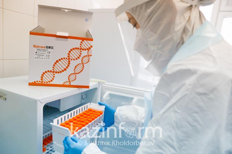 За сутки в Казахстане зарегистрировано 1811 новых случаев заболевания коронавирусом