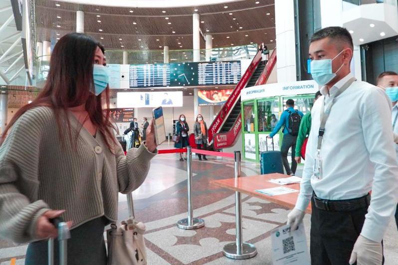 В столичном аэропорту официально запущено приложение Ashyq