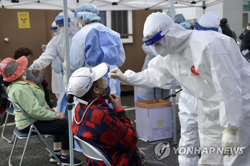 New cases back above 600 amid spreading variants in S. Korea