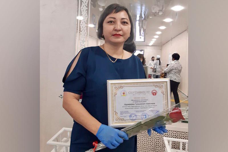 Лучшим фельдшером Павлодарской области назвали работника скорой помощи