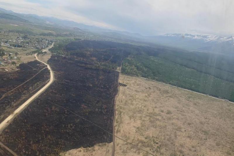 Пожар в Риддере полностью ликвидирован – МЧС РК