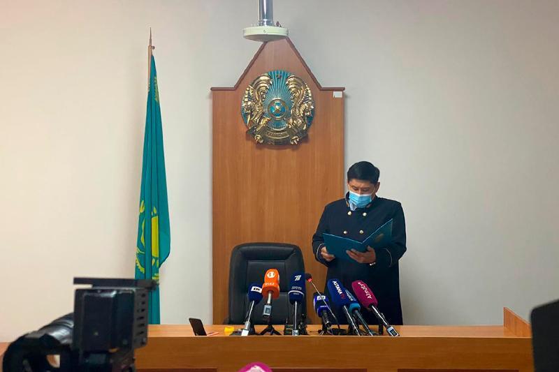 Крушение самолета Bek Air: подсудимым вынесли приговор