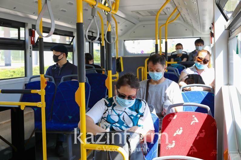 Рейды по маршрутным автобусам проводят в Петропавловске