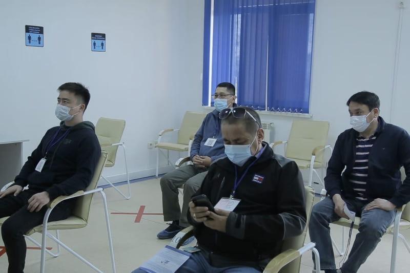 Более десяти тысяч работников Тенгиза вакцинировались от COVID-19