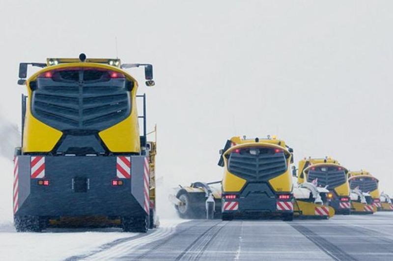 Норвегия планирует использовать беспилотники для уборки снега