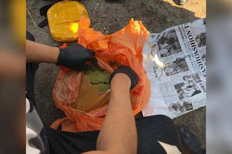 Наркокурьера с семью кг гашиша задержали в Караганде