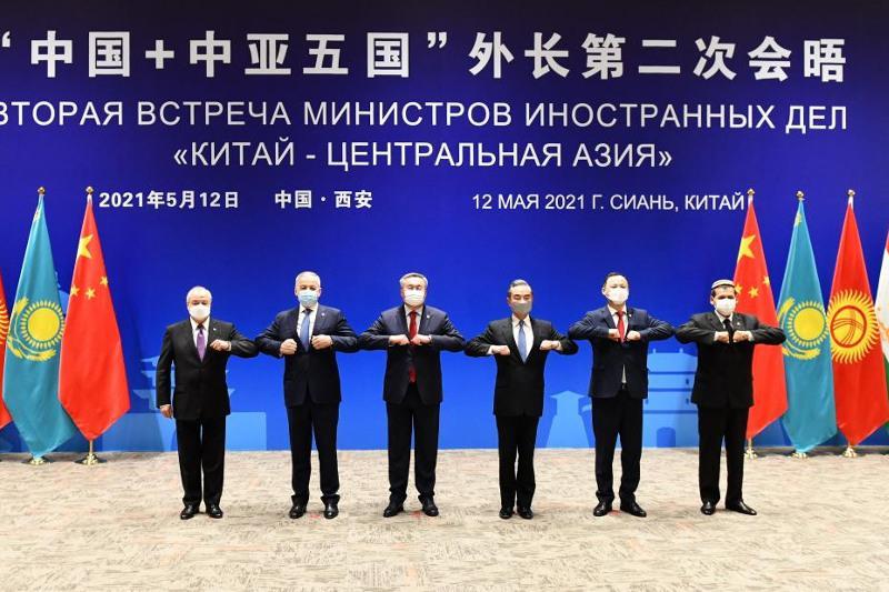 Казахстанская делегация приняла участие в заседании формата «Центральная Азия – Китай»