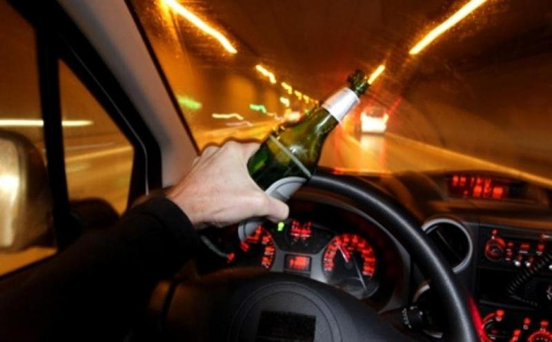 Нетрезвый и лишенный прав водитель в наркотическом опьянении задержан в Таразе