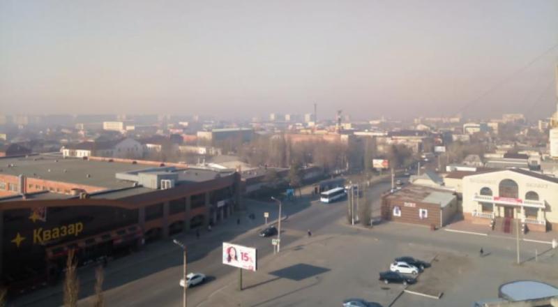 Смог от лесных пожаров в России накрыл Павлодарскую область