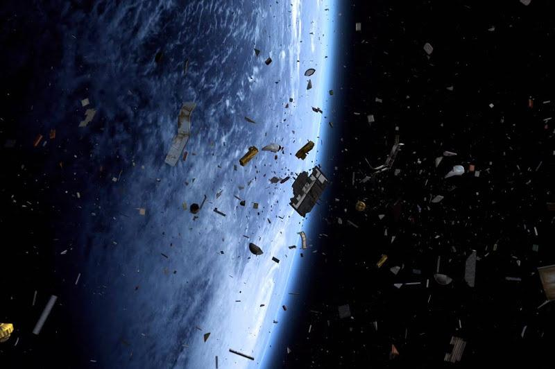 Around 7,000 tonnes of space debris is in the Earth's orbits - expert