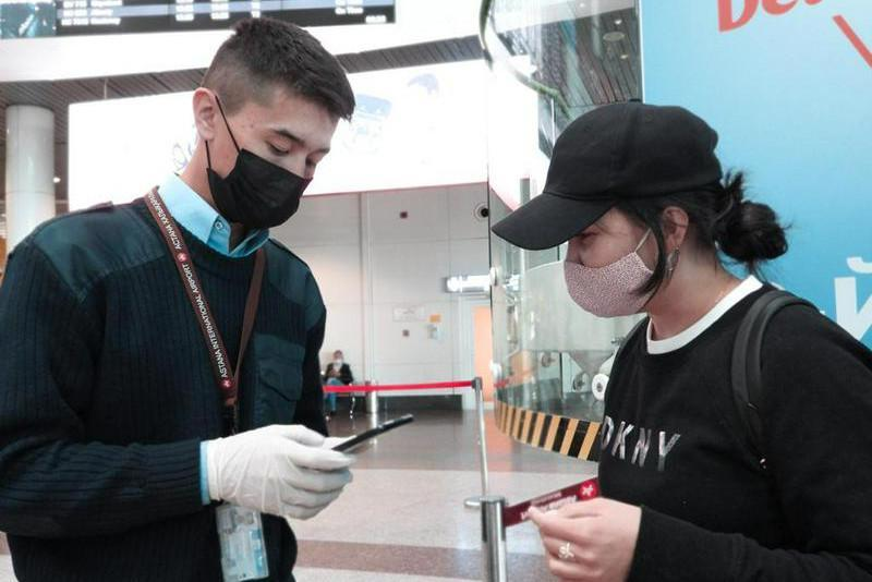 4 with 'Yellow', 2 with 'Red' status passengers detected at Nur-Sultan airport
