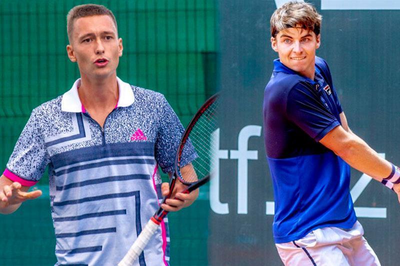 Kazakhstani male tennis players off to a good start at ITF tournaments