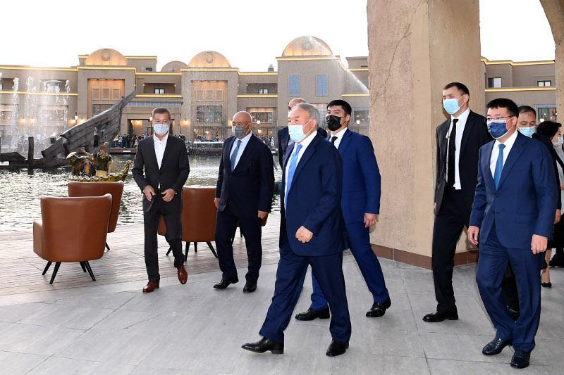 Итоги визита в Туркестан: Елбасы проинформировали о реставрации исторических объектов городища Культобе