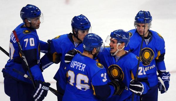 哈萨克斯坦冰球队将与乌克兰队进行两场友谊赛
