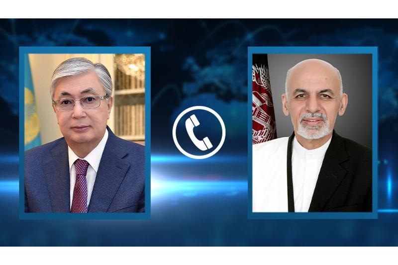 President Tokayev had telephone conversation with President of Afghanistan