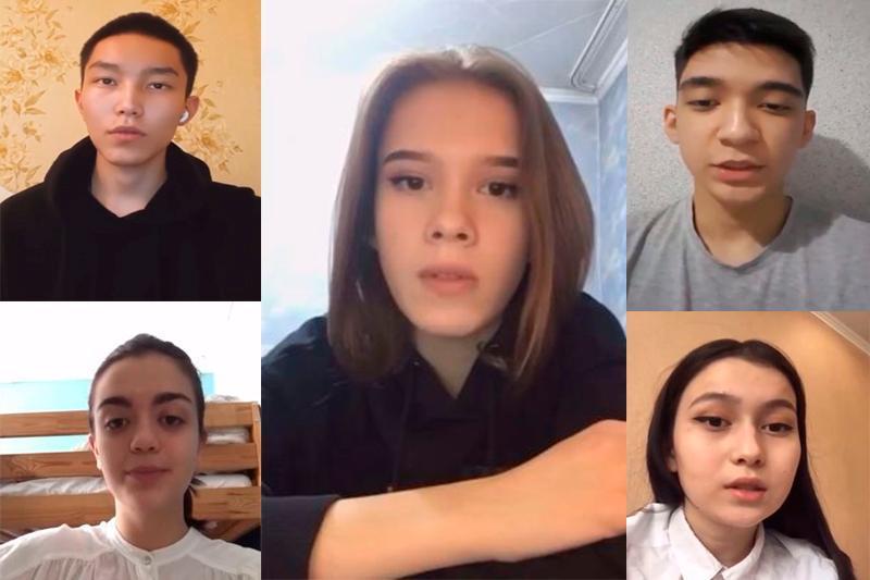 Алматылық оқушылар Тәуелсіздіктің 30 жылдығына орай онлайн челлендж бастады
