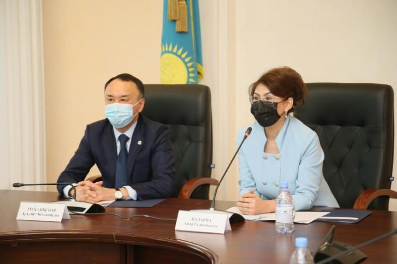 Information Minister pays working visit to Kostanay region