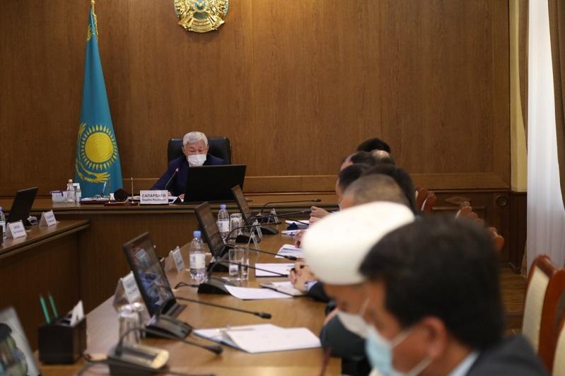 В Жамбылской области активно реализуется проект «Мир и согласие»