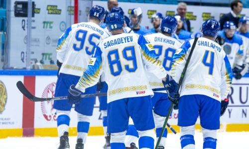 Сборная Казахстана всухую победила Беларусь перед стартом на ЧМ-2021