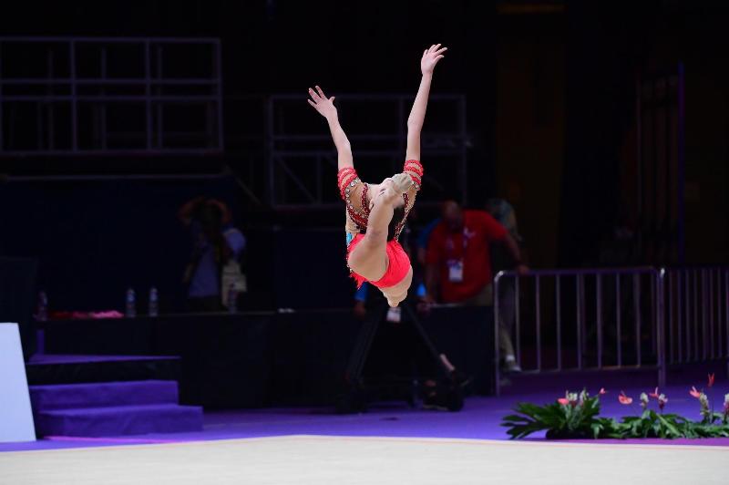 Шымкент примет чемпионат Казахстана по художественной гимнастике
