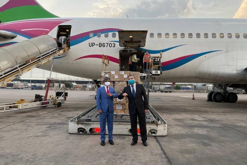 Около 40 тонн гуманитарной помощи отправил Казахстан в Индию